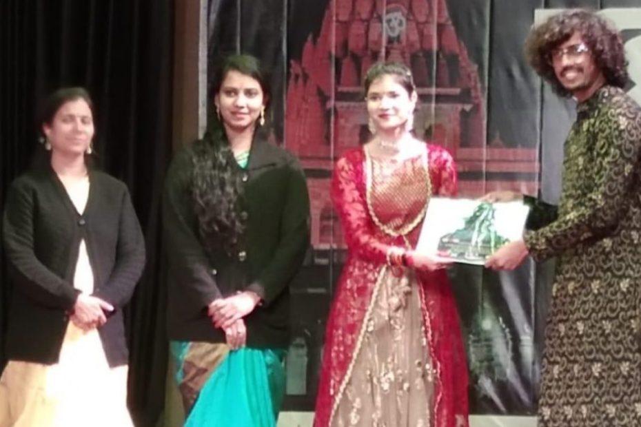 Khanak Fest 2021 in ujjain: Anjali sharma from Chhattisgarh won first prize in Solo Kathak Dance खनक पेस्ट अंजली शर्मा कत्थक डांस छत्तीसगढ़