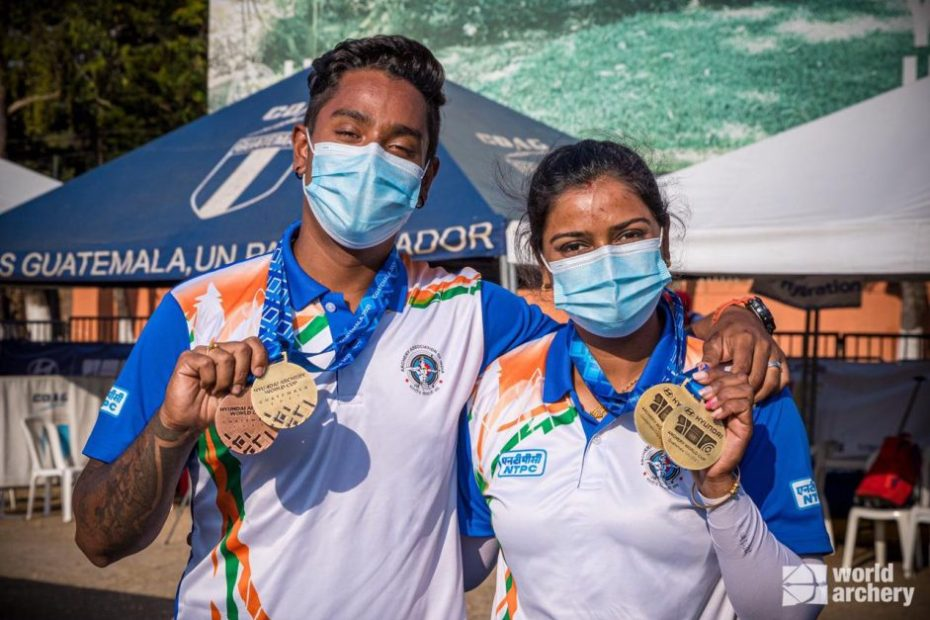 Archery couple big win in guatemala archery world cup