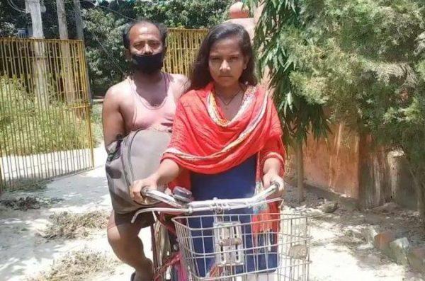 Cycle girl Jyoti Kumar