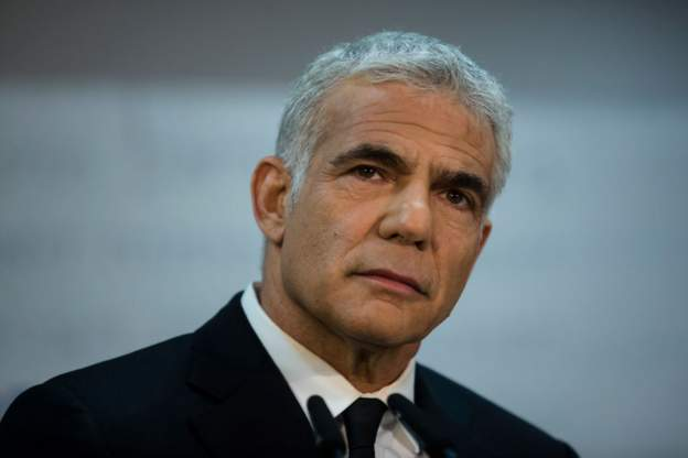 Israel's Deputy Prime Minister and Foreign Minister Yair Lepid