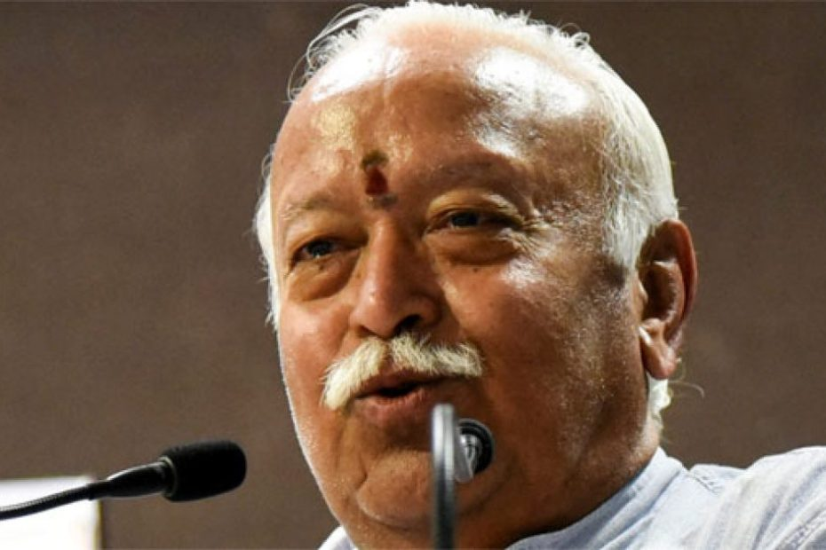 Population of Muslims is increasing in India says RSS chief