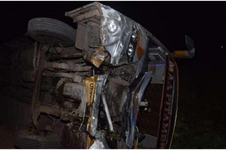 Kanpur Road Accident : कानपुर में भीषण सड़क हादसा, 16 की मृत्यु और कई घायल !