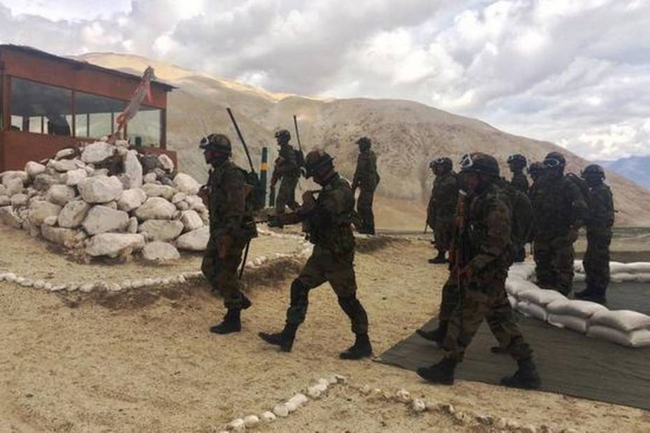PLA soldiers infiltrated Demchok