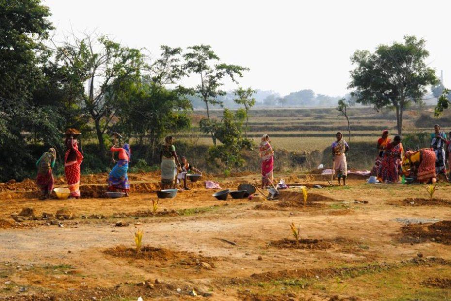 In MGNREGA