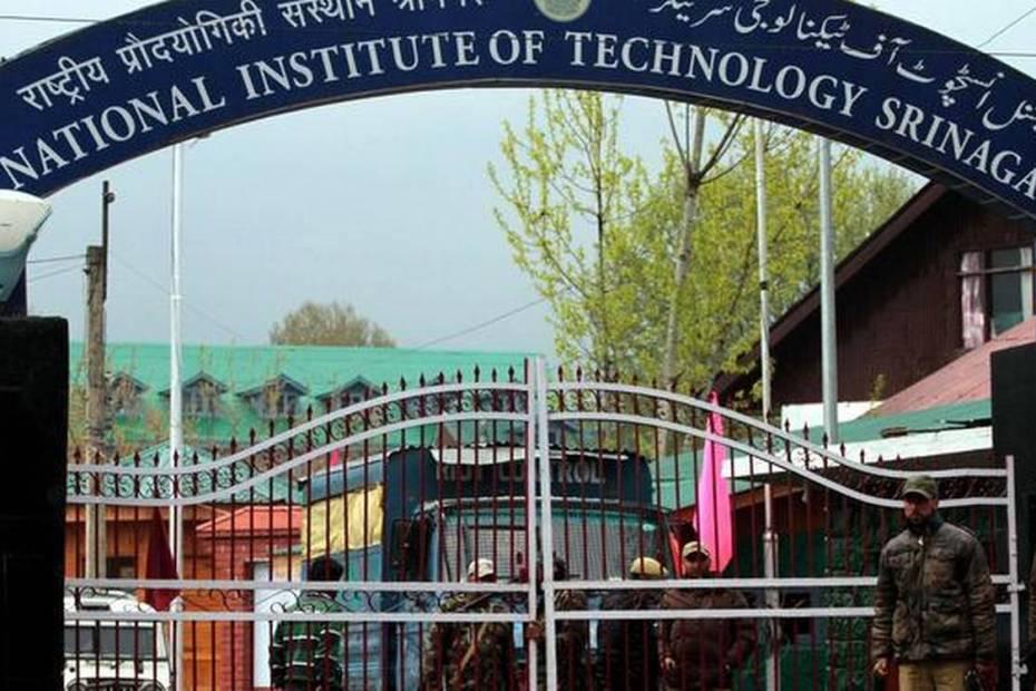 NIT Srinagar scholars protest