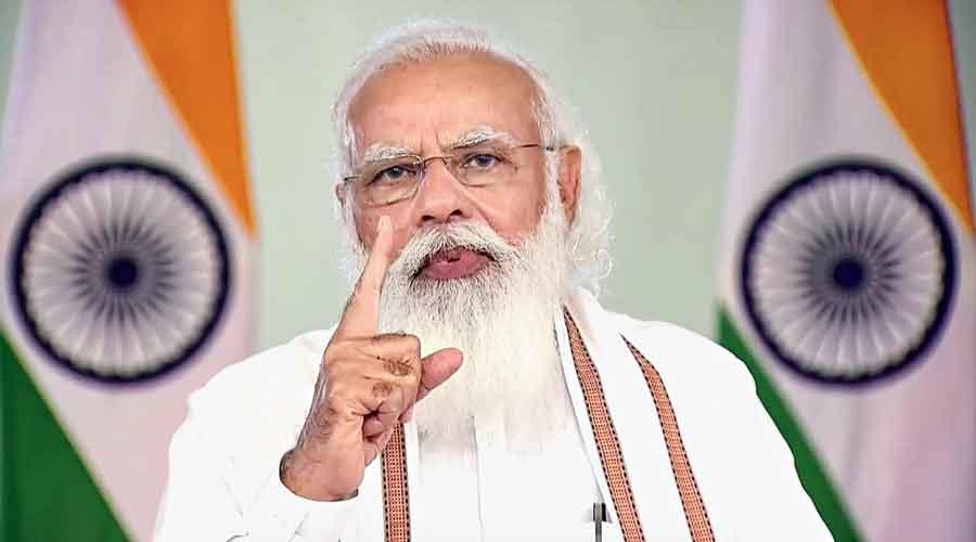 PM Modi linked victory
