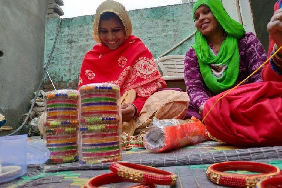 Resounding the jingle of bangles