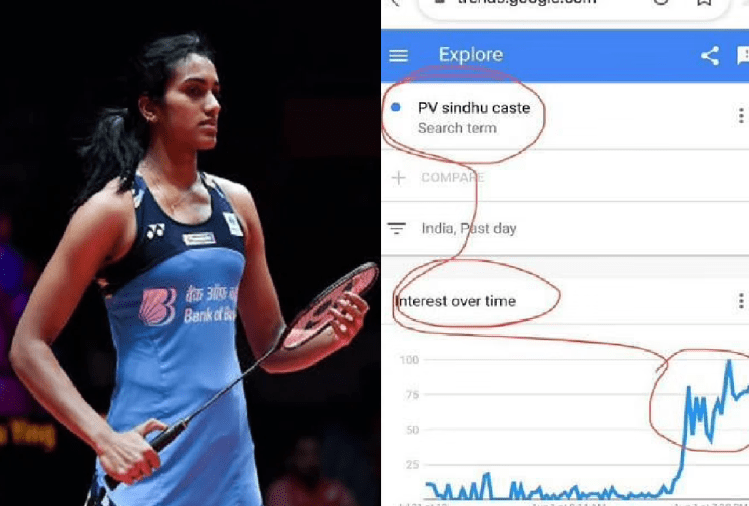 Why Caste of Indian athletes being searched
