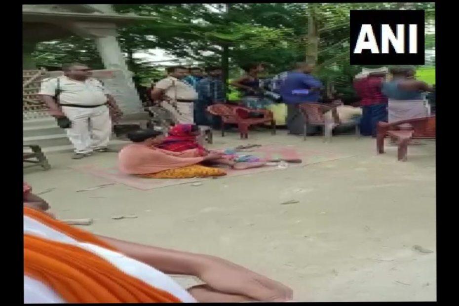 Couple stripped naked in Forbesganj Bihar