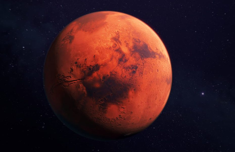 Reserves of water found in temperate zones of Mars