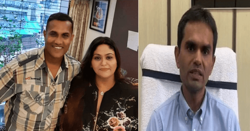Who is Fletcher Patel seen with NCB officer Sameer Wankhede?