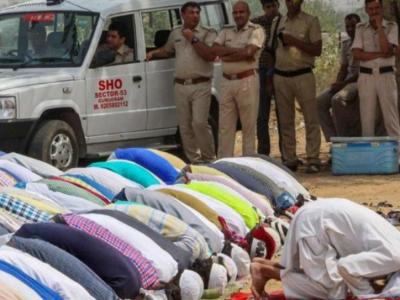 Gurgaon Namaz row; 'If we pray here next week, something could happen'