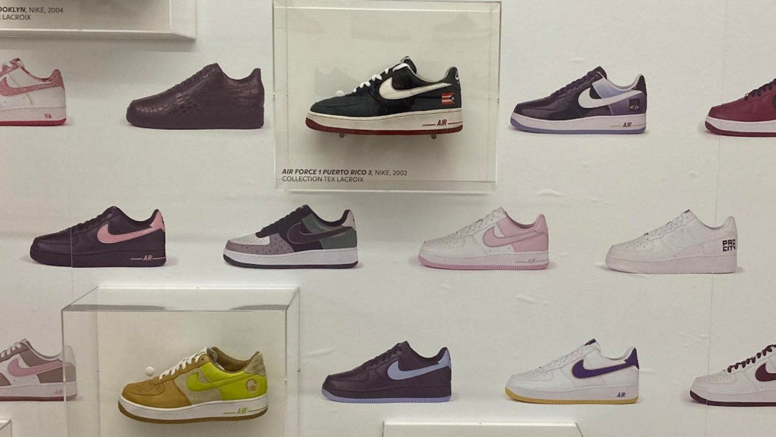 "exposition sneakers ""Playground"" MADD"