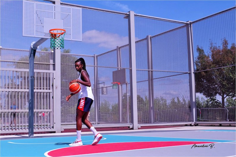 Ball'n connect x grounds migna touré basketball amandine b. quai des sports saint michel Bordeaux playgrounds