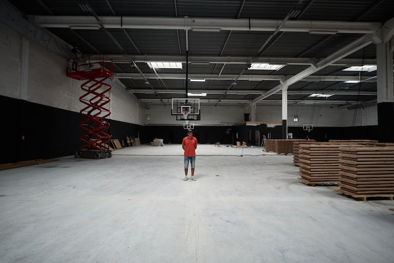 Hoops factory bordeaux basketball grounds charles paillette Crédit photo @ Studio Florent Larronde