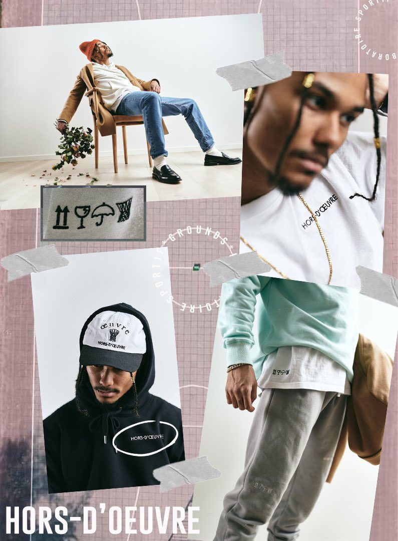 hors-d'oeuvre montage collection 1 lifestyle
