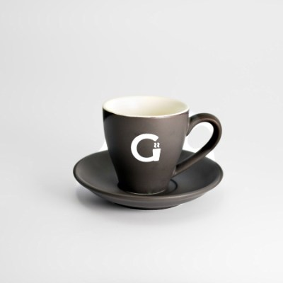 Grounds Mug and Saucer