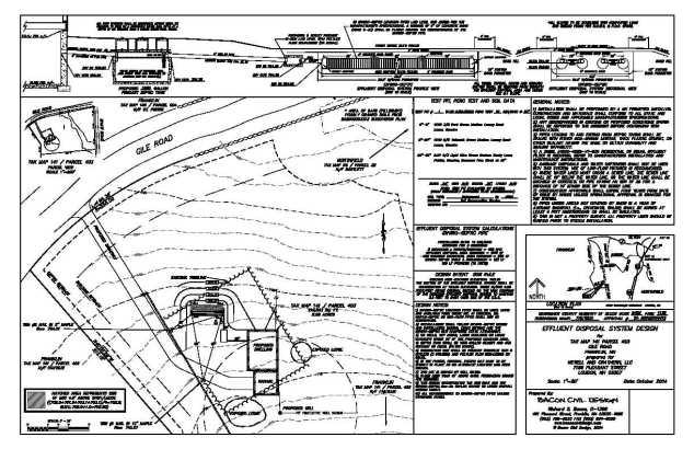 septic field design in bc