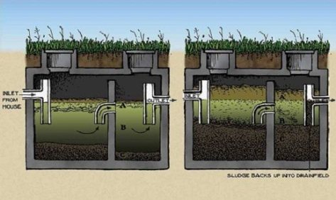 why pump a septic tank