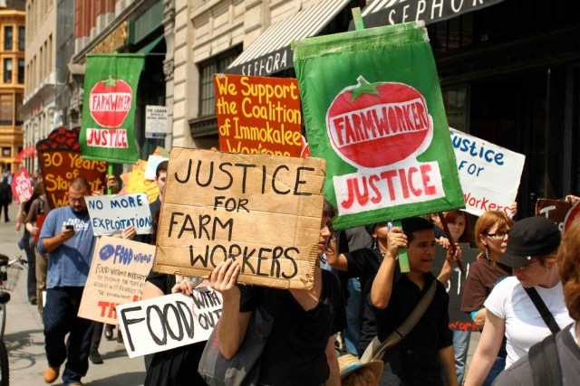 From Farm to Table to Justice: An Evening of Food, Film and Farmworker Rights!