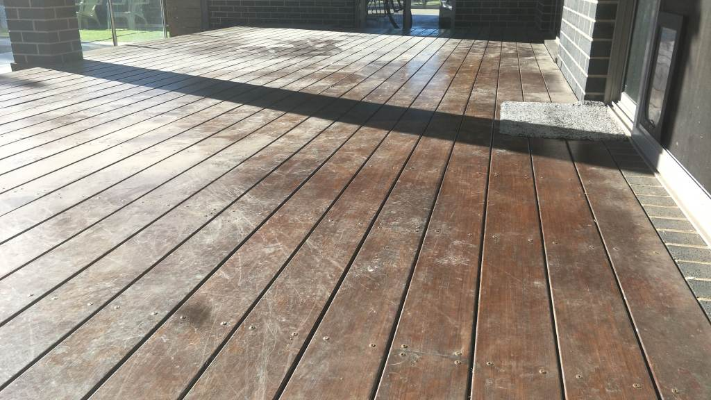 BEFORE - EXISTING TIMBER