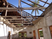 House in Manthuvil with stolen doors-windows-roof sheets-14Sept2012