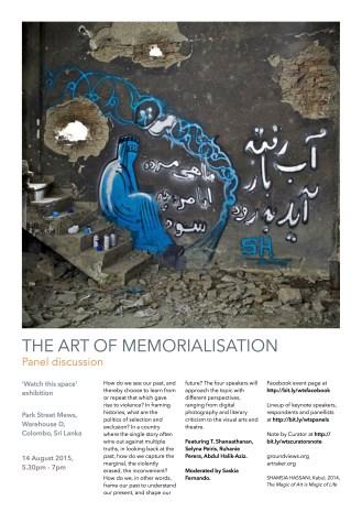 The Art of Memorialisation