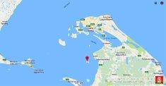 Iranaitheevu on Sri Lanka map