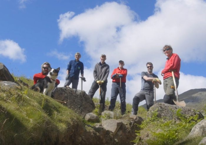 Fix the Fells volunteers on Coniston Old Man
