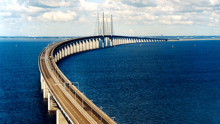 Image result for Øresund Bridge