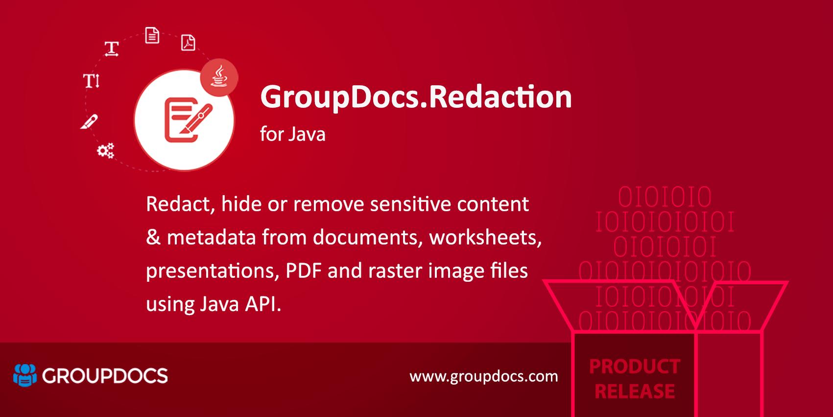 Big News Groupdocsdaction Has Been Released For Java Platform Groupdocs