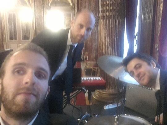 Groupe de jazz hôtel Westin Paris