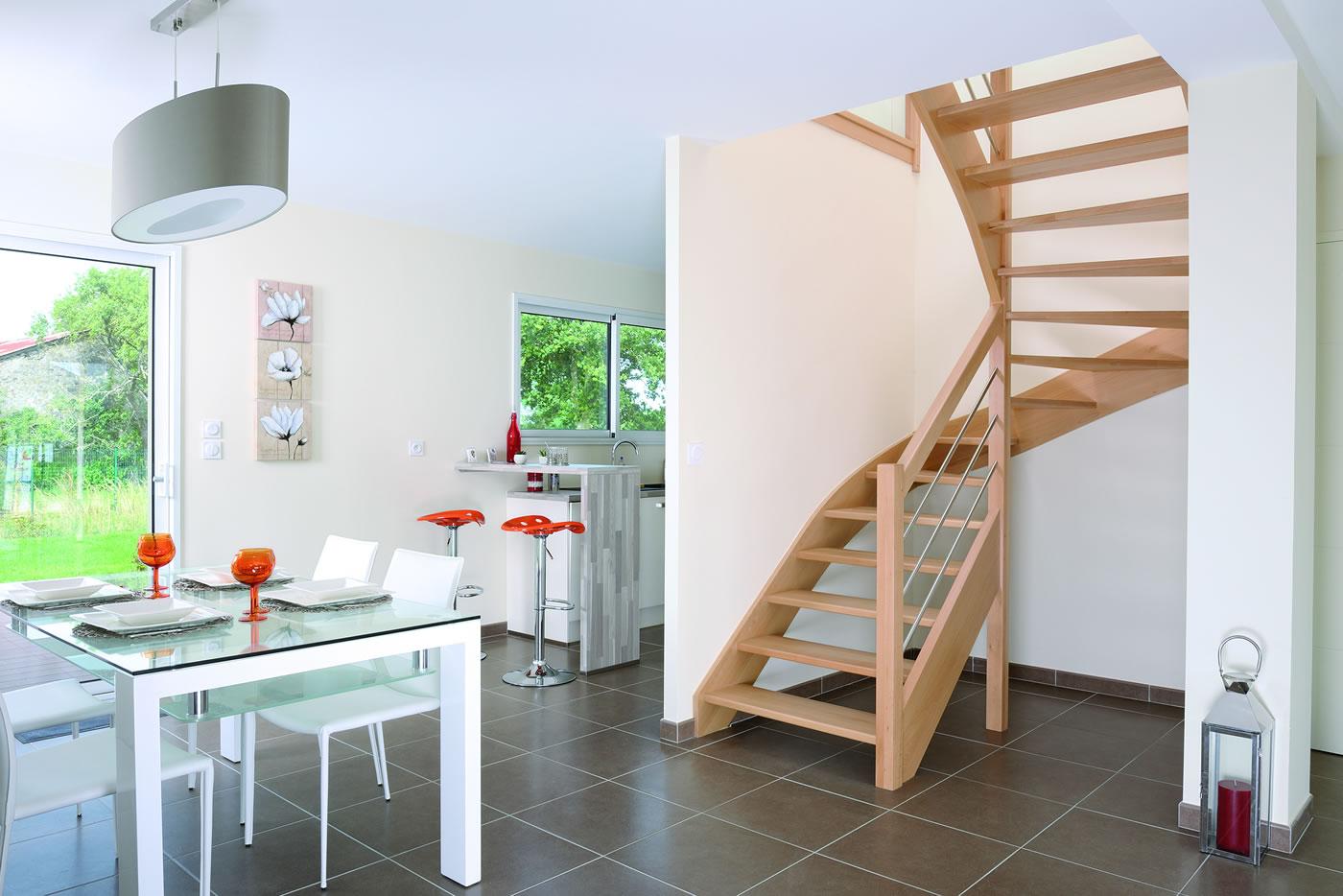 Escalier Bois Sans Rampe