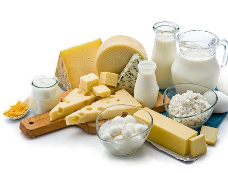 grande distribution produits laitiers