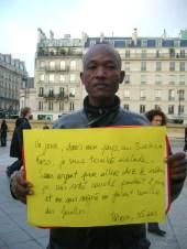Porteur de parole d'un affilié Oxfam
