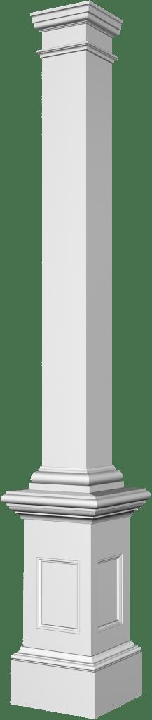 colonne et poteau de galerie exterieur