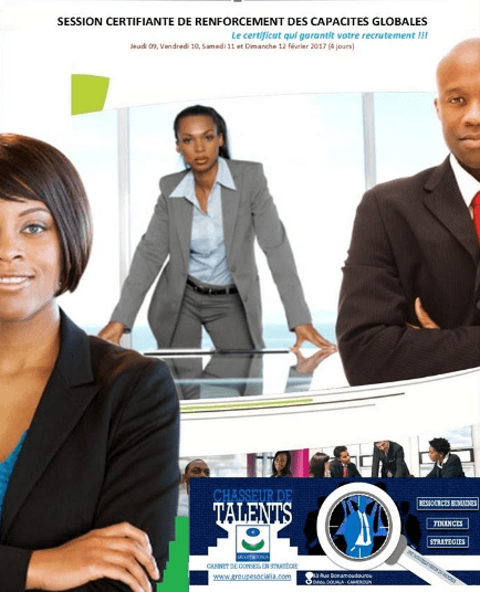 RENFORCEMENT DES COMPÉTENCES PROFESSIONNELLES GLOBALES