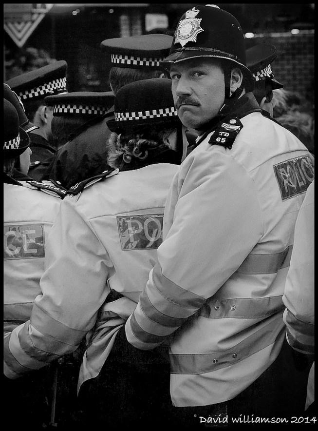 A Policemans Lot...