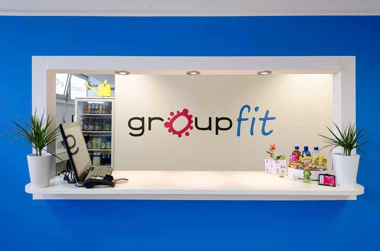groupfit Fitnessstudio Muenchen Empfang