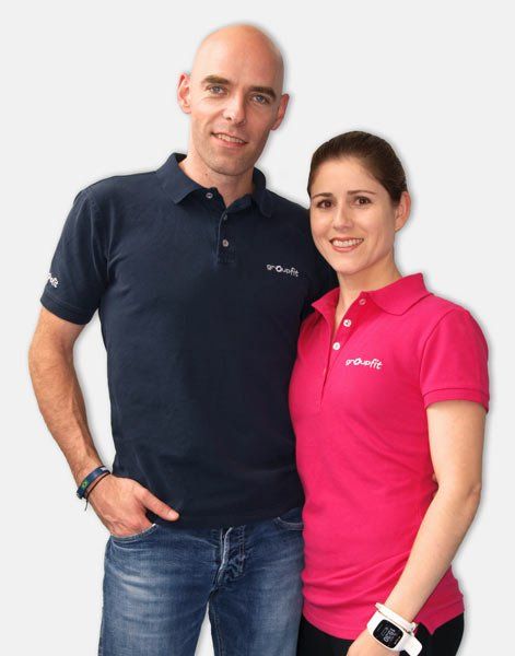 Nina und timo groupfit Fitnessstudio
