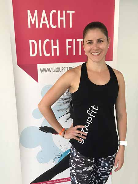 groupfit Trainer Nina