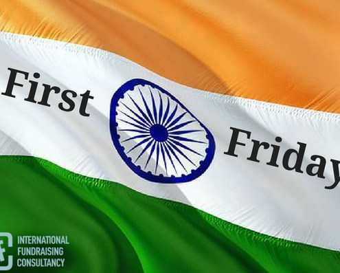 First Friday Fundraiser event in India