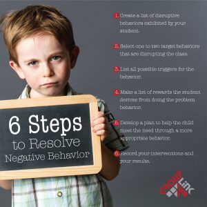 6 Steps to Correcting Problem Behavior