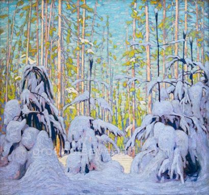 Forest In Winter 1915