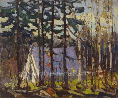 Artists Camp, Canoe Lake, Algonquin Park