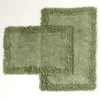 forest green bathroom rugs