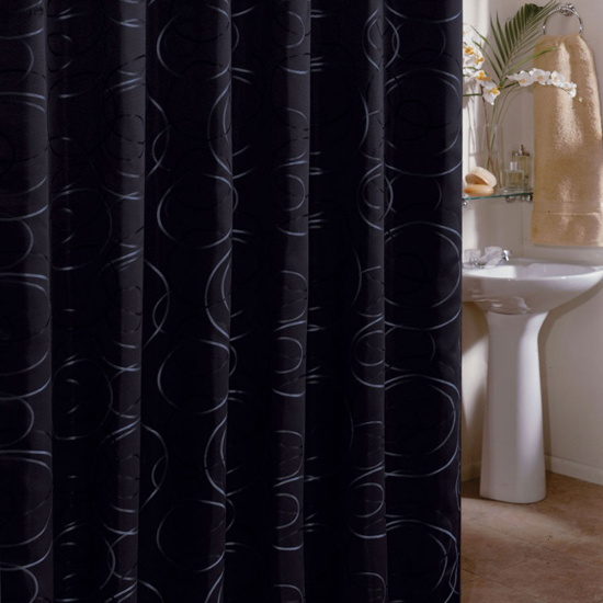 72x75 Fabric Shower Curtains