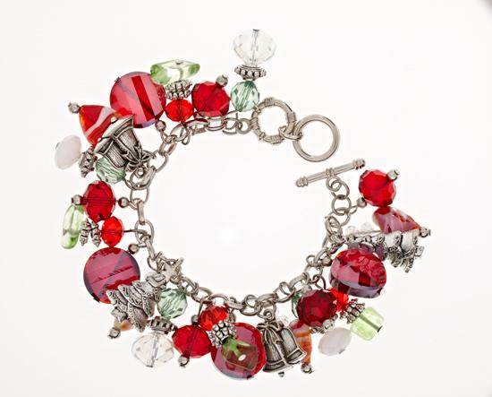 Holiday Charm Bracelets