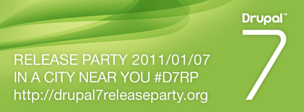 Drupal 7 - Time to party!