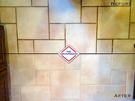 tile re grouting in tulsa groutsmith